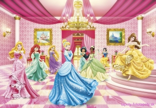 Fototapeta Komar Princess Ball 8-476 | 368 x 254 cm