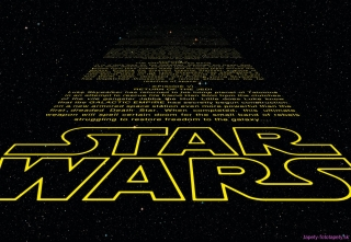 Fototapeta Komar Star Wars Text 8-487 | 368 x 254 cm